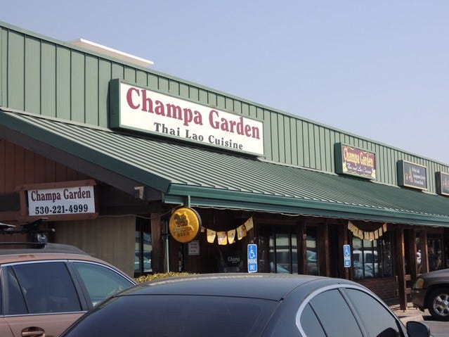Champa Garden in the Hilltop Town and Country shopping center.