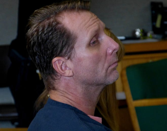 Frank Berry of Shingletown was ordered Thursday, Sept. 6, 2018, to stand trial for murder and other charges in the death of his girlfriend.