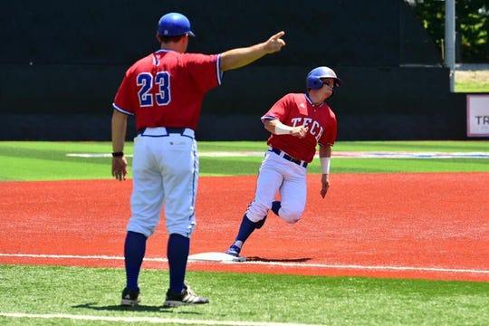 Louisiana Tech baseball coach Lane Burroughs.