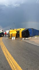 A photo from a past crash on Highway 63 in Texas County.