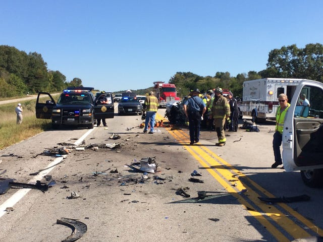 Chief says Texas County highway is dangerous  MoDOT says it's average
