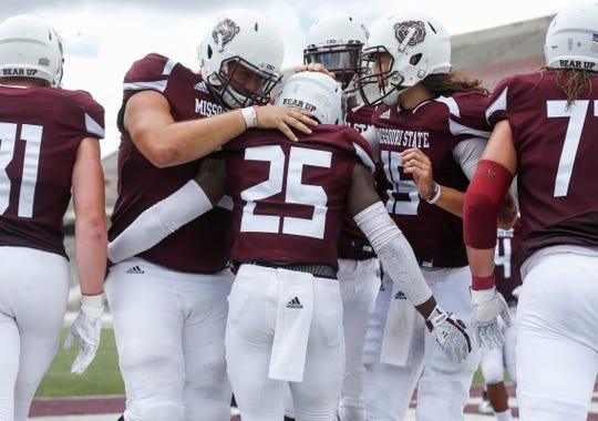 Scenes from the Missouri State Bears' home opener at Plaster Stadium against Lincoln University on Thursday, Sep. 6, 2018.