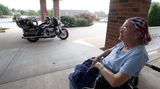 Anna Ferreira always wanted to ride a Harley. The staff at Magnolia Square Nursing and Rehabilitation made her birthday wish come true.