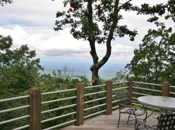 A Wintergreen home with mountain views in the Ravens Roost subdivision up for sale for $725,000.