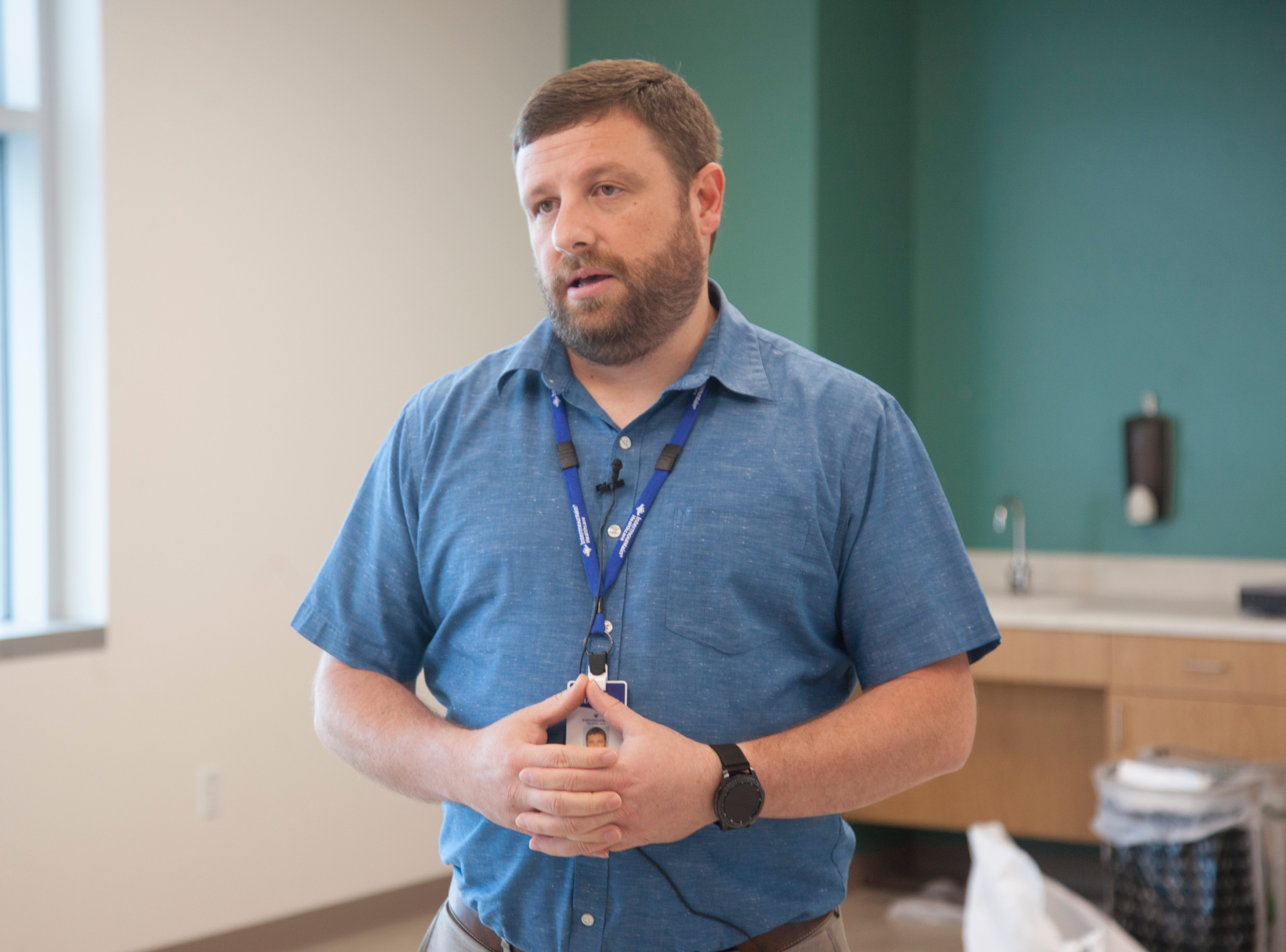 Jeremy Nielsen is the behavioral health department manager at Dixie Regional Medical Center.