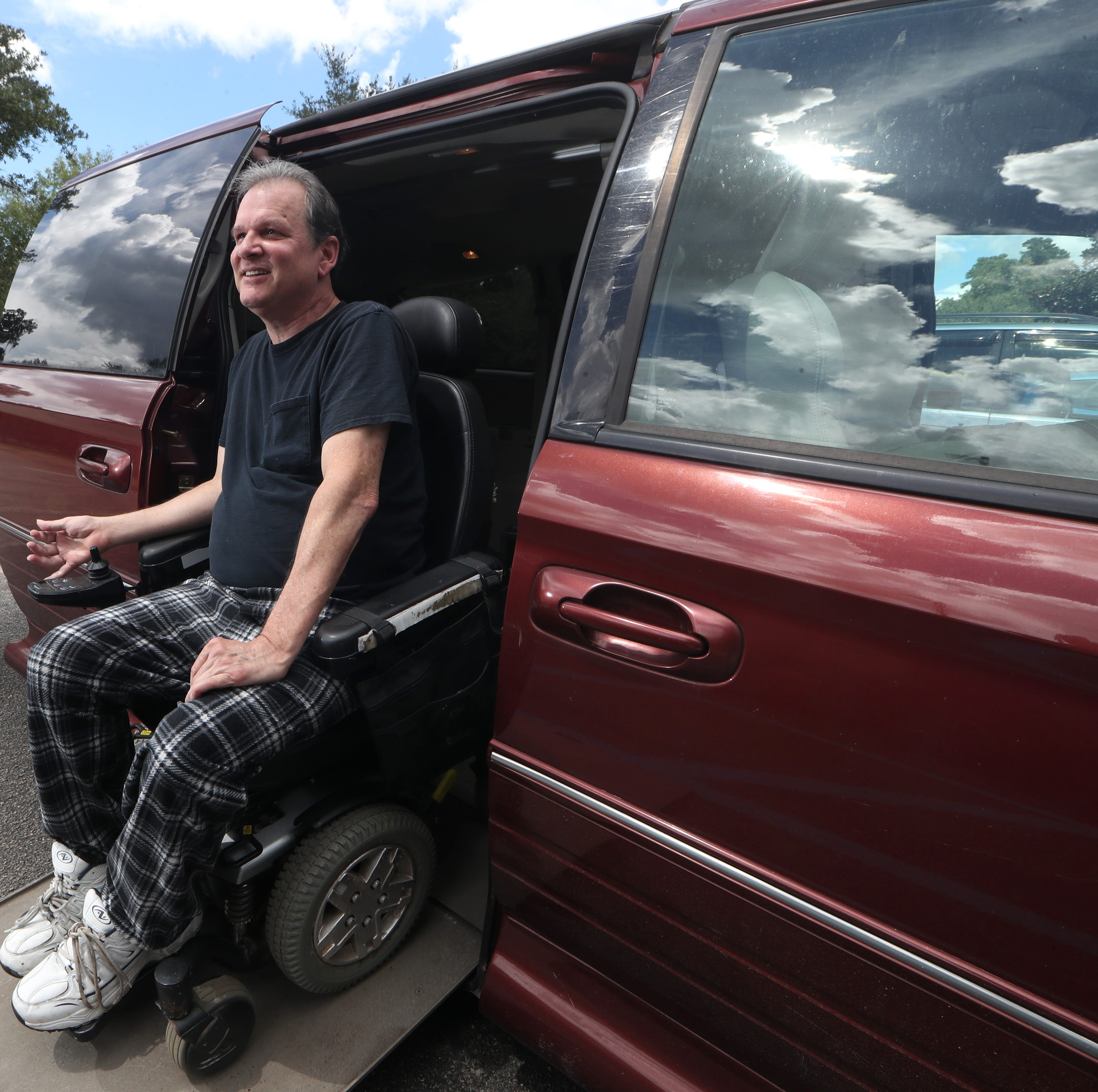 A friend in deed to a friend in need: Inherited van a lifesaver for quadriplegic
