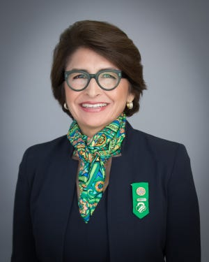 """Sylvia Acevedo, CEO of Girl Scouts of the USA and author of """"Path to the Stars"""""""