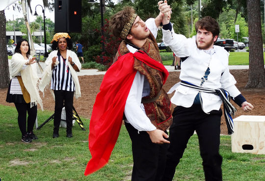The festival will feature excerpts from golden age plays and lecture demonstrations in dining, dueling, dancing, and drama from the fifteenth century.