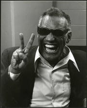 Photographer Mickey Adair was around in the early '80s when singer Ray Charles visited Tallahassee.