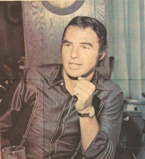 Actor Burt Reynolds in this undated file photo.