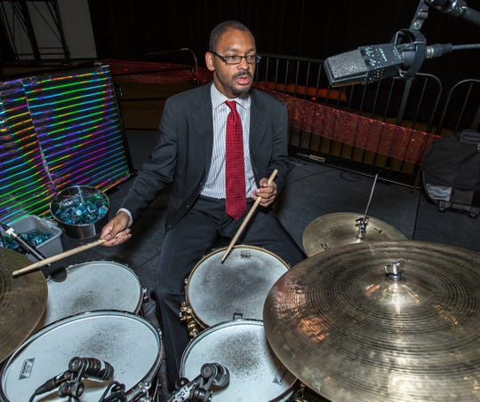 Jason Marsalis brings his world-class quintet to perform and talk about tunes in two sets Sunday at  B Sharp's Jazz Cafe.