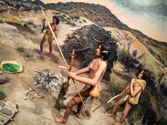 The El Paso Museum of Archaeology will be closing for renovations and is expected to reopen in mid-November. An exhibit shows how people in the region hunted and lived.