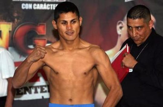 """Juarez boxer Miguel """"Mickey"""" Roman is still a factor in boxing after 15 years a a professional."""