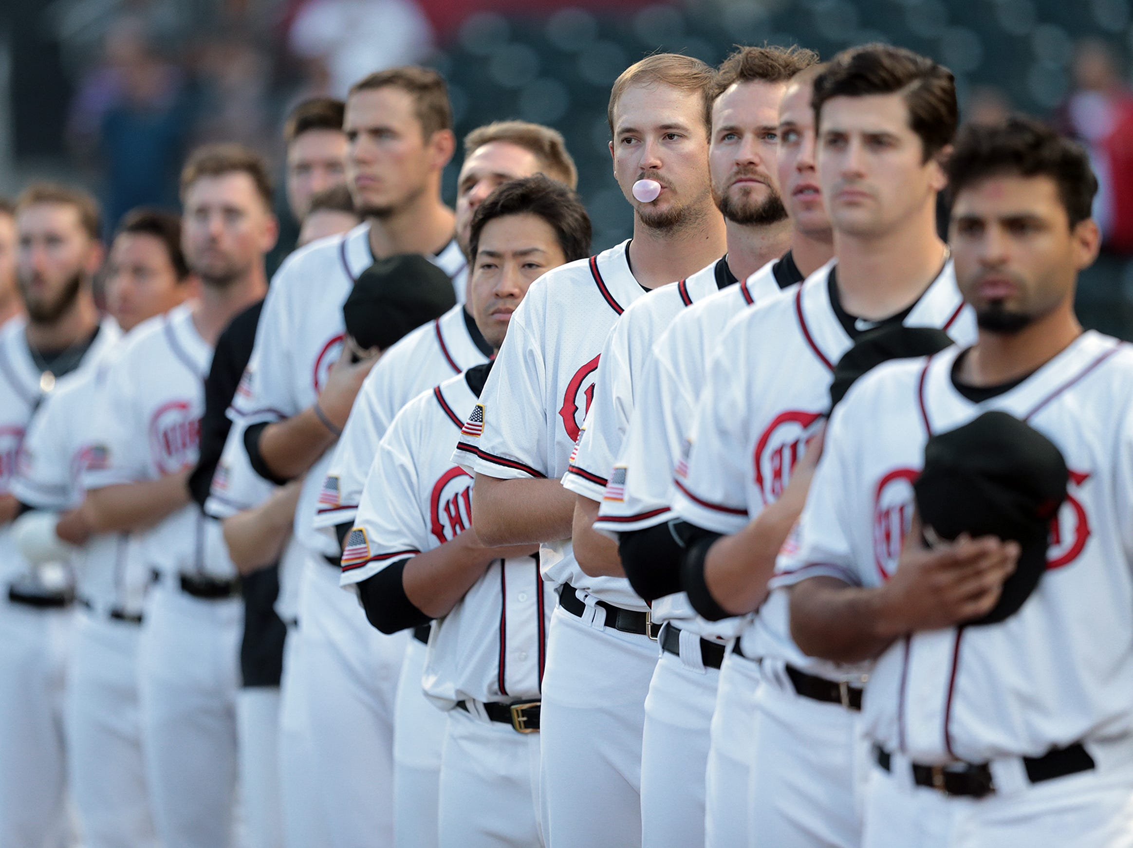 The El Paso Chihuahuas are shown kicking off their playoff series against Fresno.