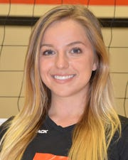 Kirra Drury was an outside hitter for the Ventura College women's volleyball team in the 2013 and 2014 seasons. The St. Bonaventure High graduate was killed in a boat crash on the Colorado River on Sept. 1.
