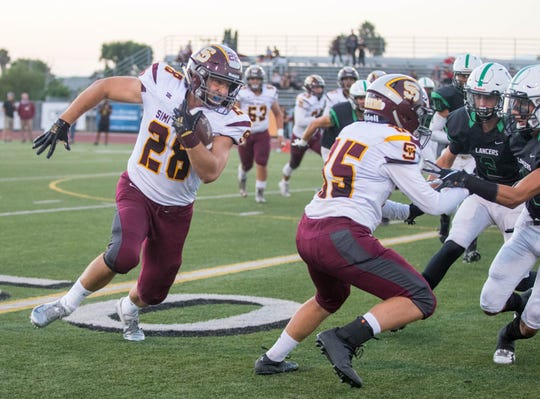 Simi Valley's Jackson Sterling made the All-CIF Division 10 Offensive Team.