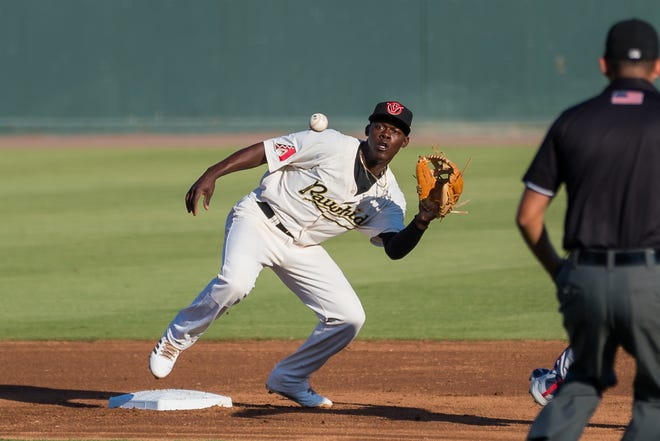 Jazz Chisholm and the Visalia Rawhide host a playoff game on Friday at Recreation Park.