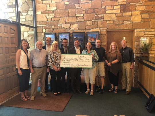 Recently, Associated Bank contributed$5,000 to the Cultural Commons project in Stevens Point. The project, which is expected to cost nearly $800,000, depends on donations.