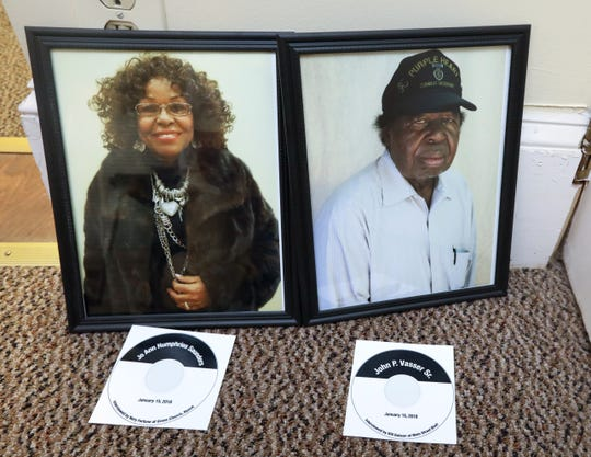 Photos of Jo Ann Humphries Saunders and John Vasser Sr. will be part of the Nyack Record Shop Project at the Nyack Historical Society Sept. 5, 2018.