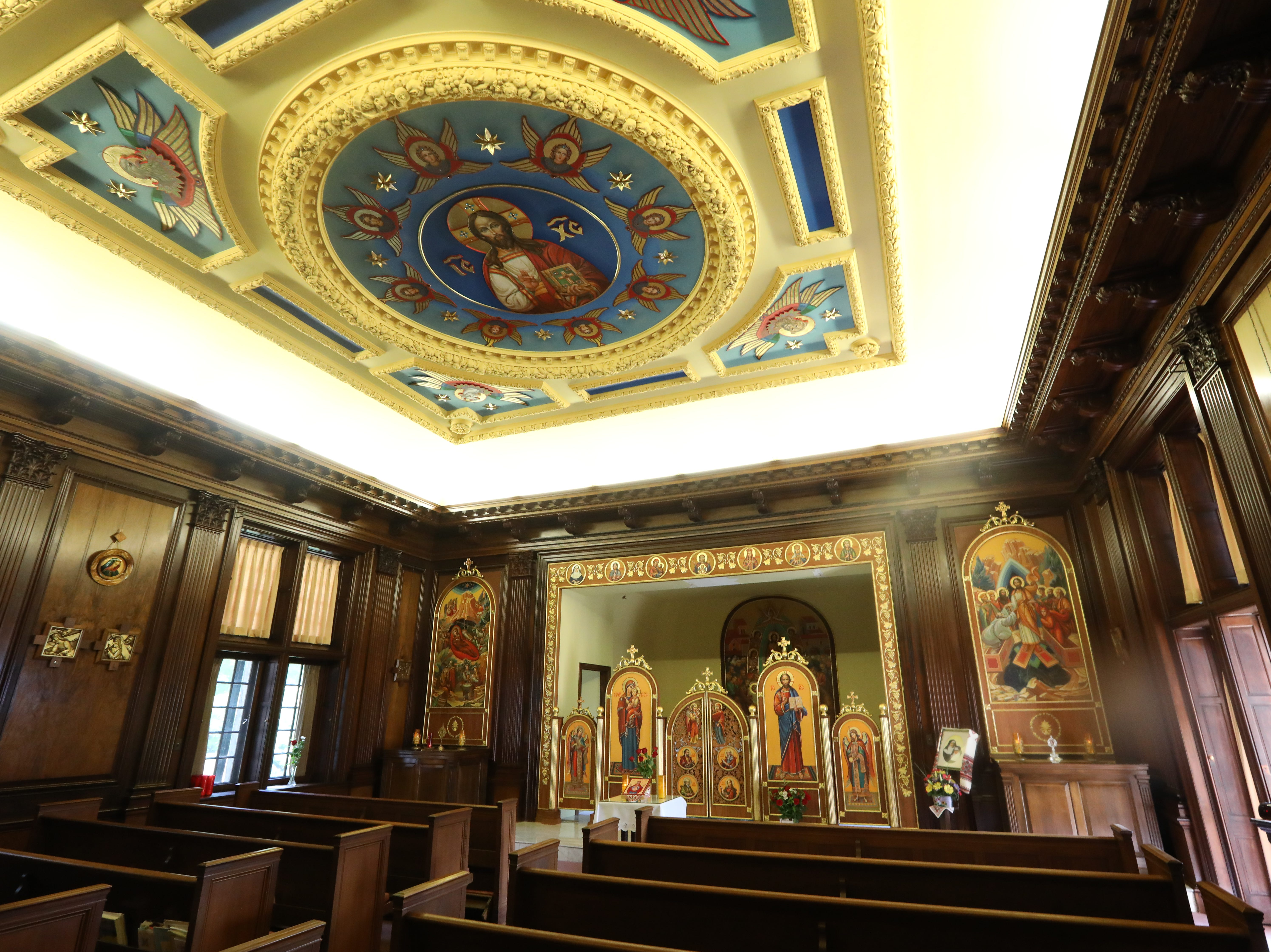 The chapel at the Table Rock estate in Sloatsburg Sept. 5, 2018. The Sisters Servants of Mary Immaculate are looking to sell the estate for $22 million.