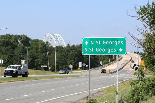 Some of the businesses at the foot of the St. Georges Bridge on U.S. 13 will be affected by the four-month closure. The owner of Antique Station in St. Georges said having the bridge closed so long will devastate his business.