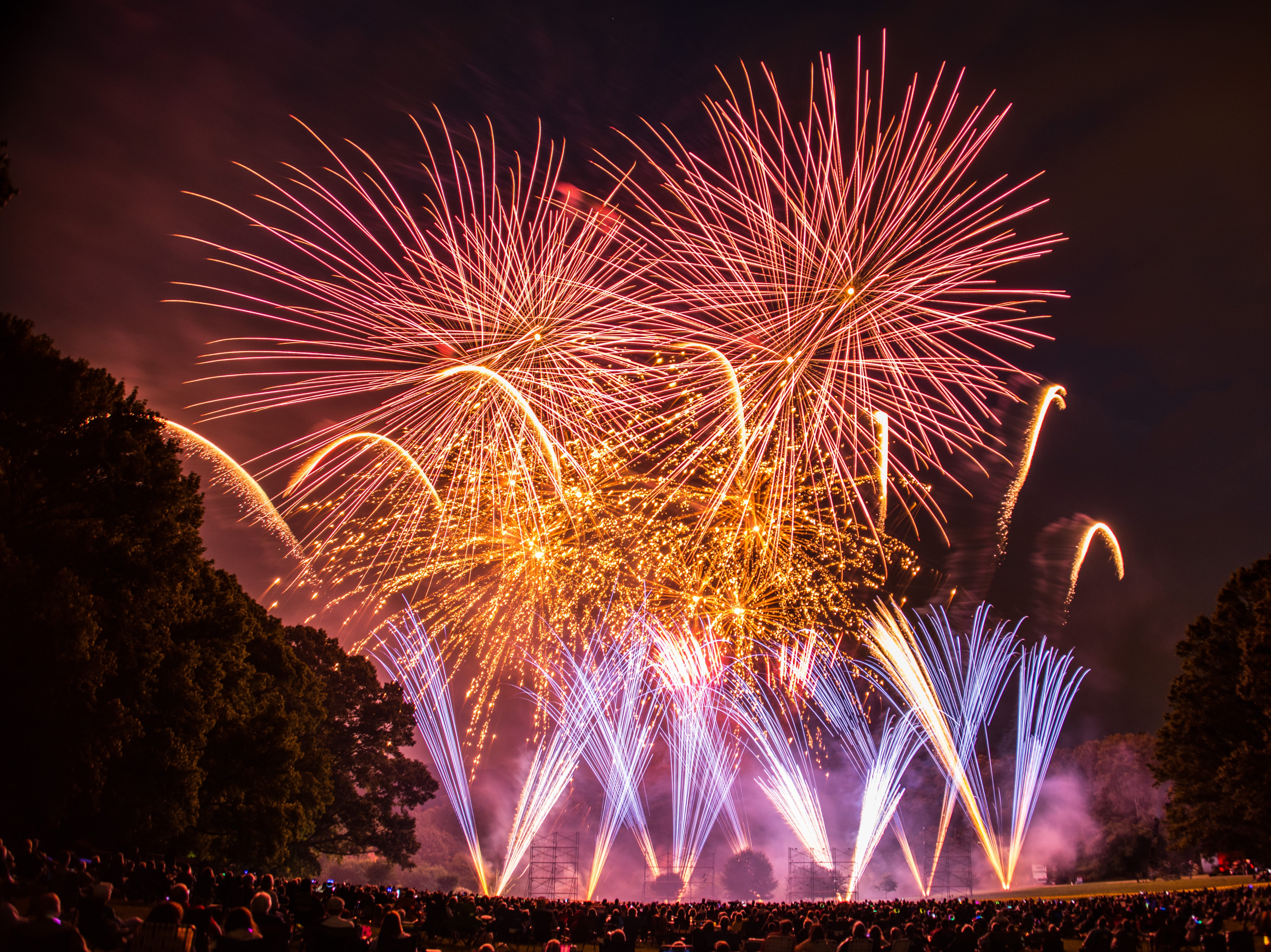 Attend a fireworks display at Hagley Museum, said to be the best of the summer in the state. www.hagley.org/calendar/fireworks-hagley-presented-mt-bank-and-wilmington-trust