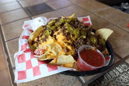 Nachos at Just 1 More on Linden Avenue in Zanesville.