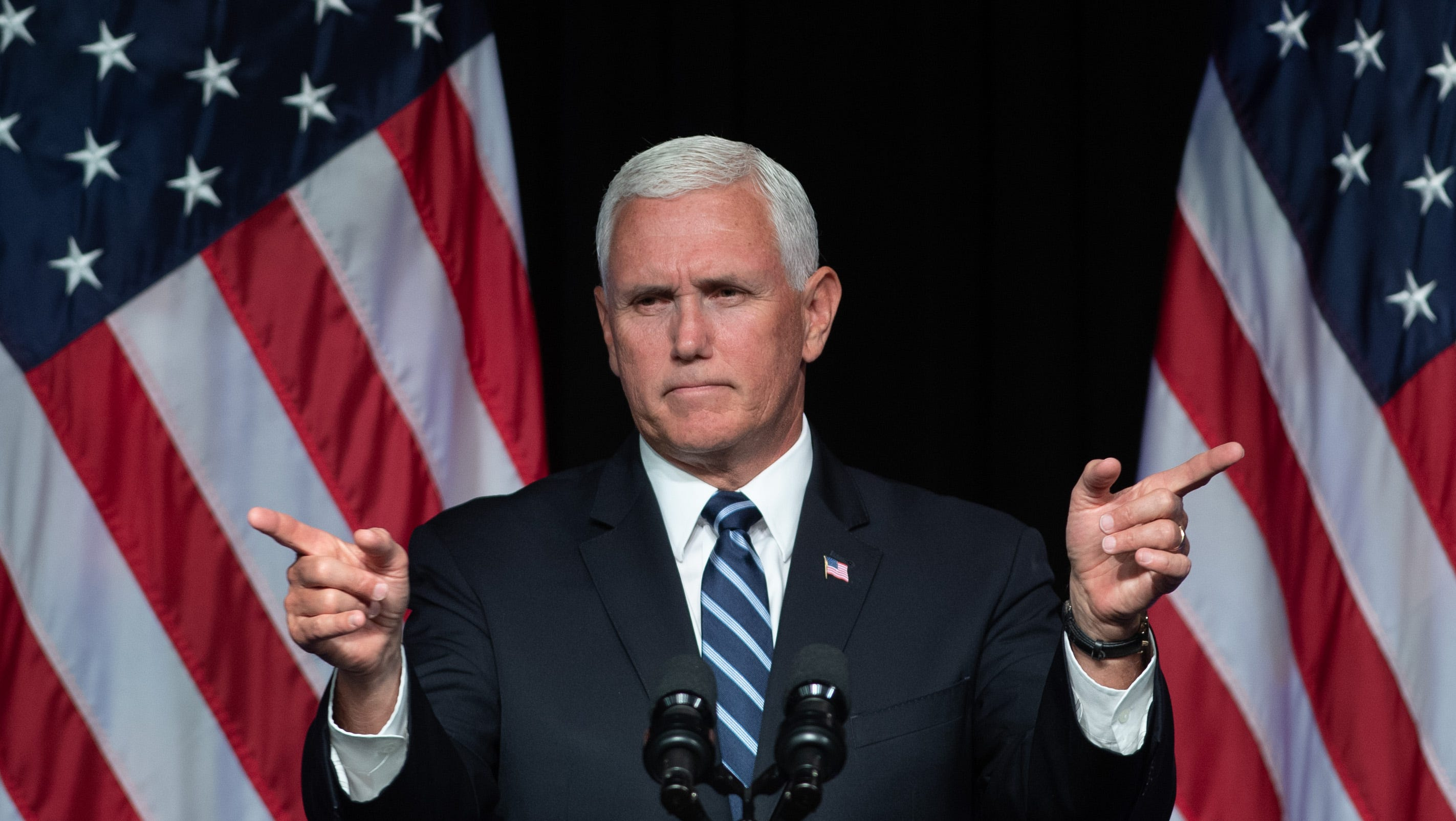 The Onion explains how to satirize Vice President Mike Pence