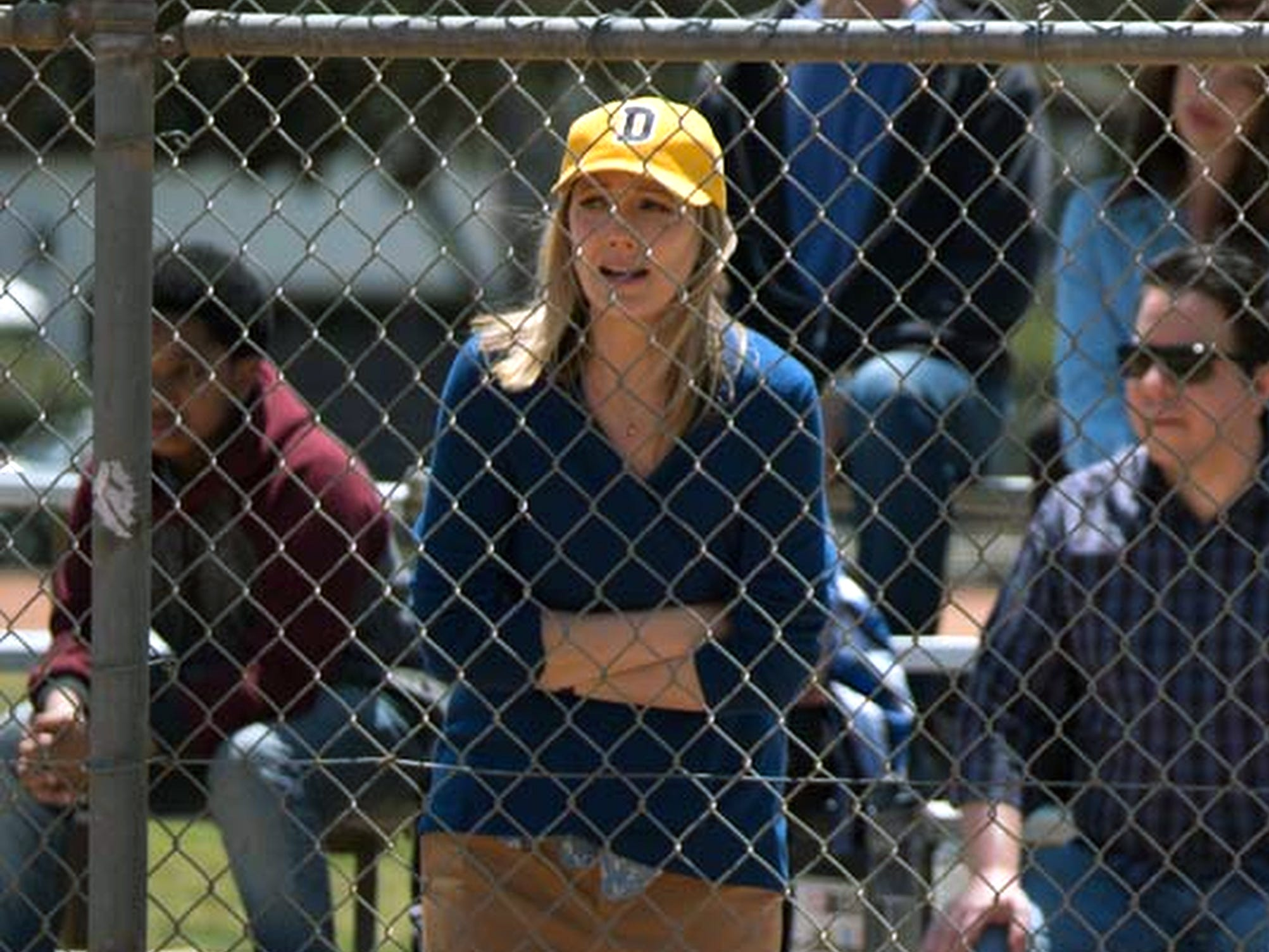 The sadness in Jeff's personal life leads to the break up of his marriage to Jill, played by Judy Greer.