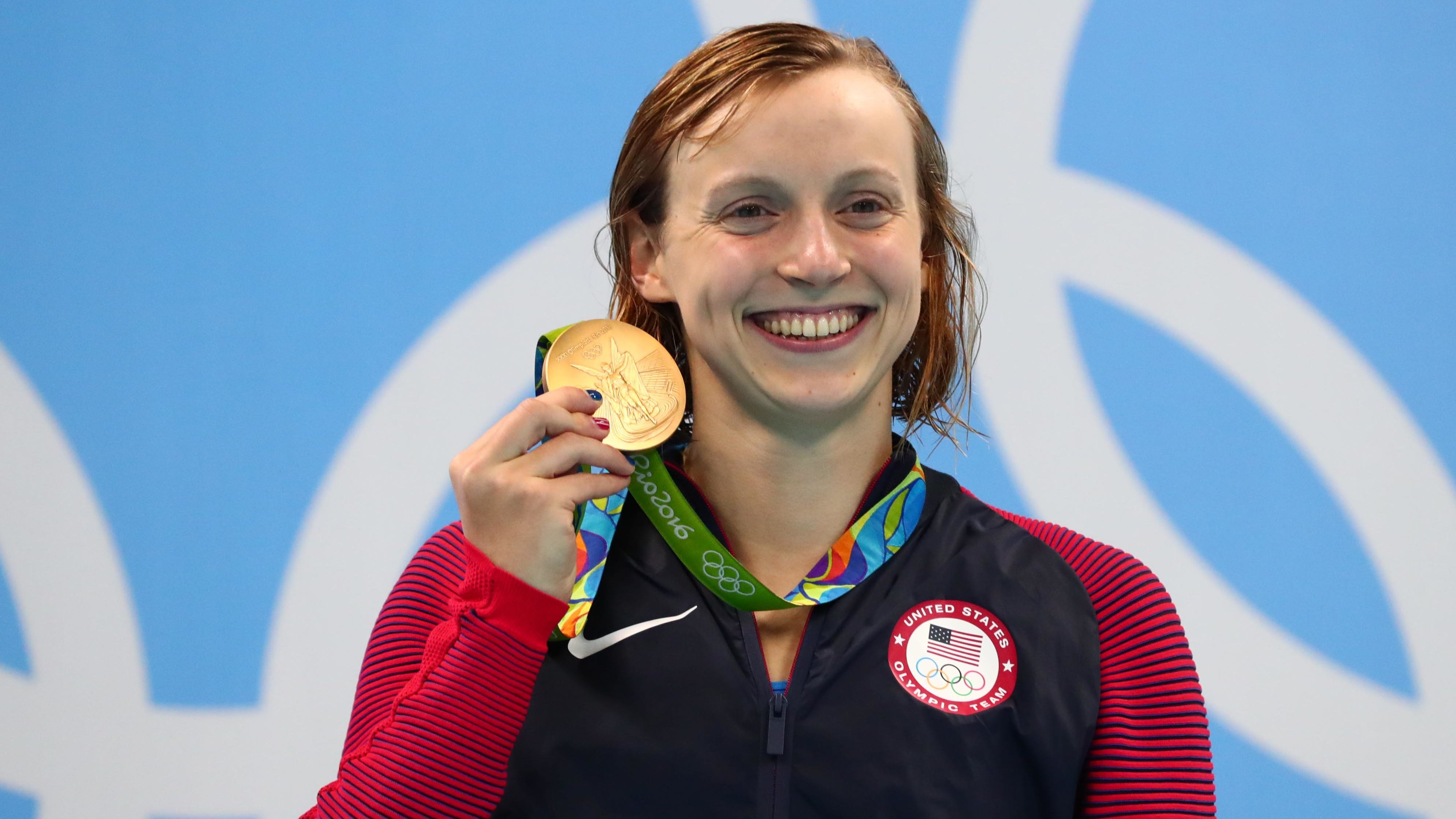 Olympic swimmer Katie Ledecky impressed by US Open athletes' conditioning