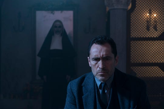 Father Burke (Demian Bichir) investigates the Catholic Church's most unusual cases, but has his hands full with a demon nun (Bonnie Aarons).
