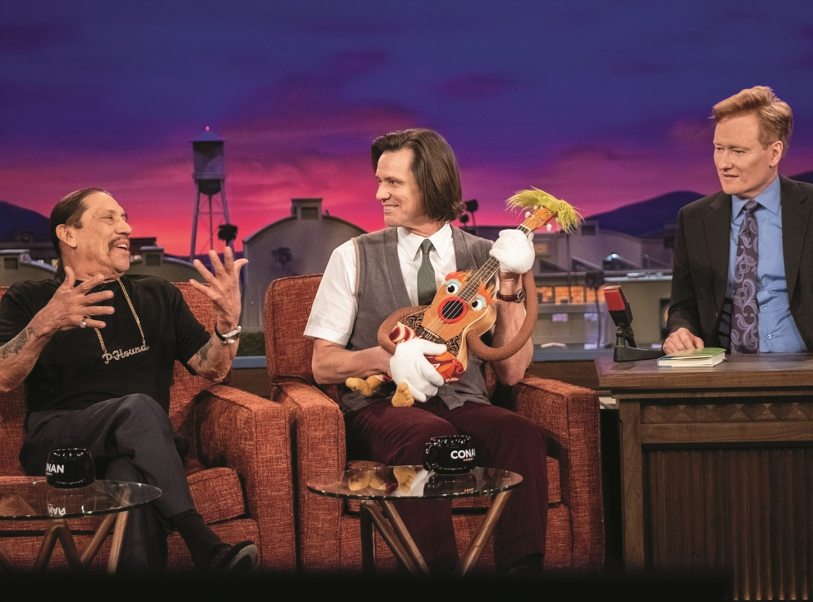 "The darkness of ""Kidding"" is offset by doses of humor, including Jeff's awkward appearance on ""Conan"" with Danny Trejo."