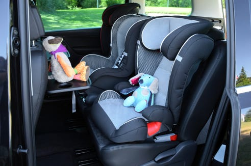 Target will accept infant seats, convertible seats, car seat bases, harness or booster car seats and car seats that are expired or damaged during it's car seat trade-in event.
