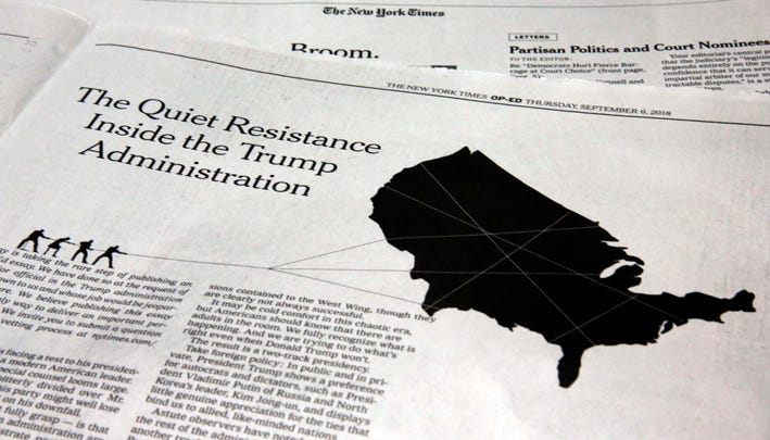No way to deny it after New York Times column: America is in a dangerous political crisis