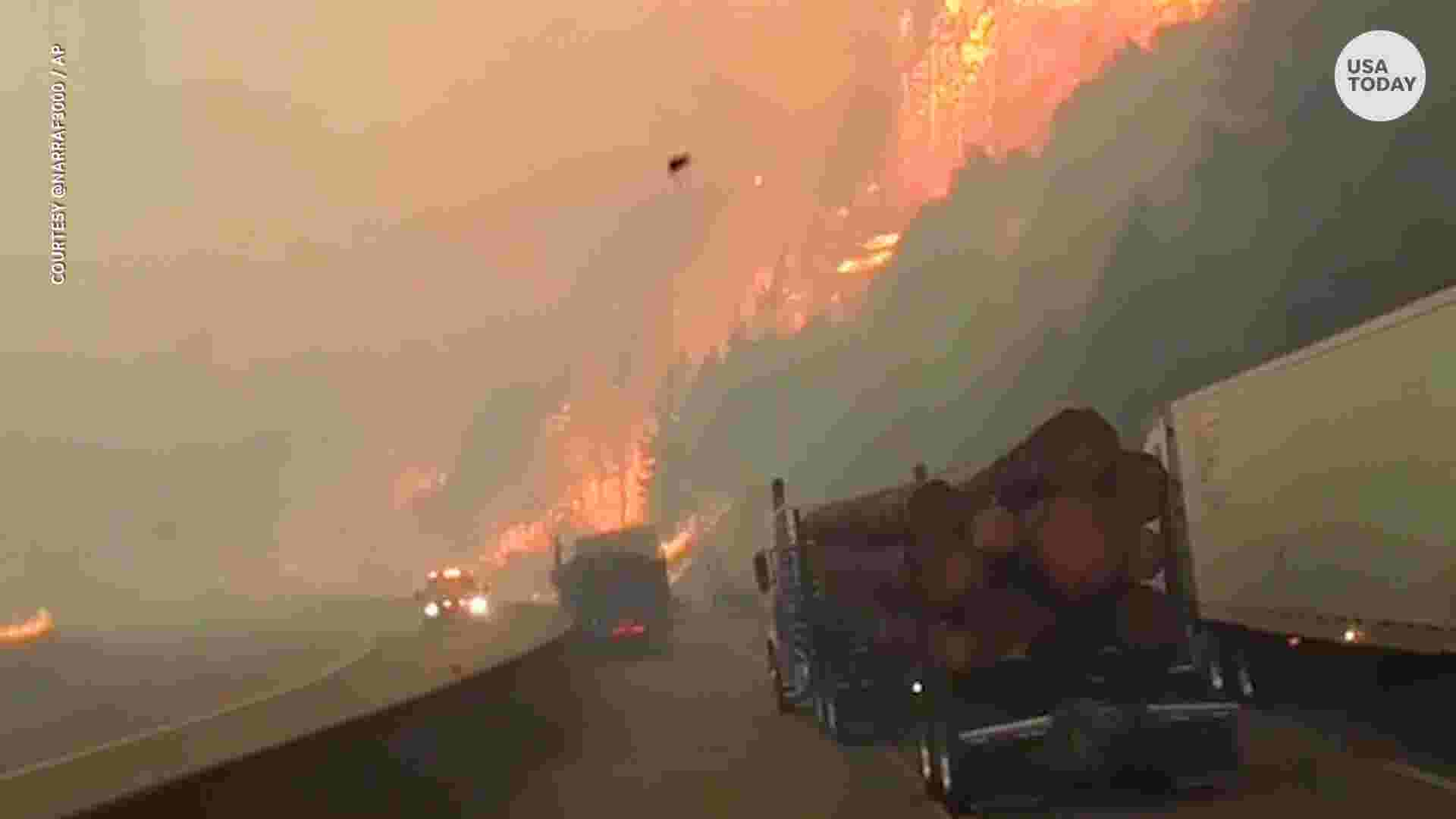 california s delta fire grows to 22 000 acres i 5 remains closed
