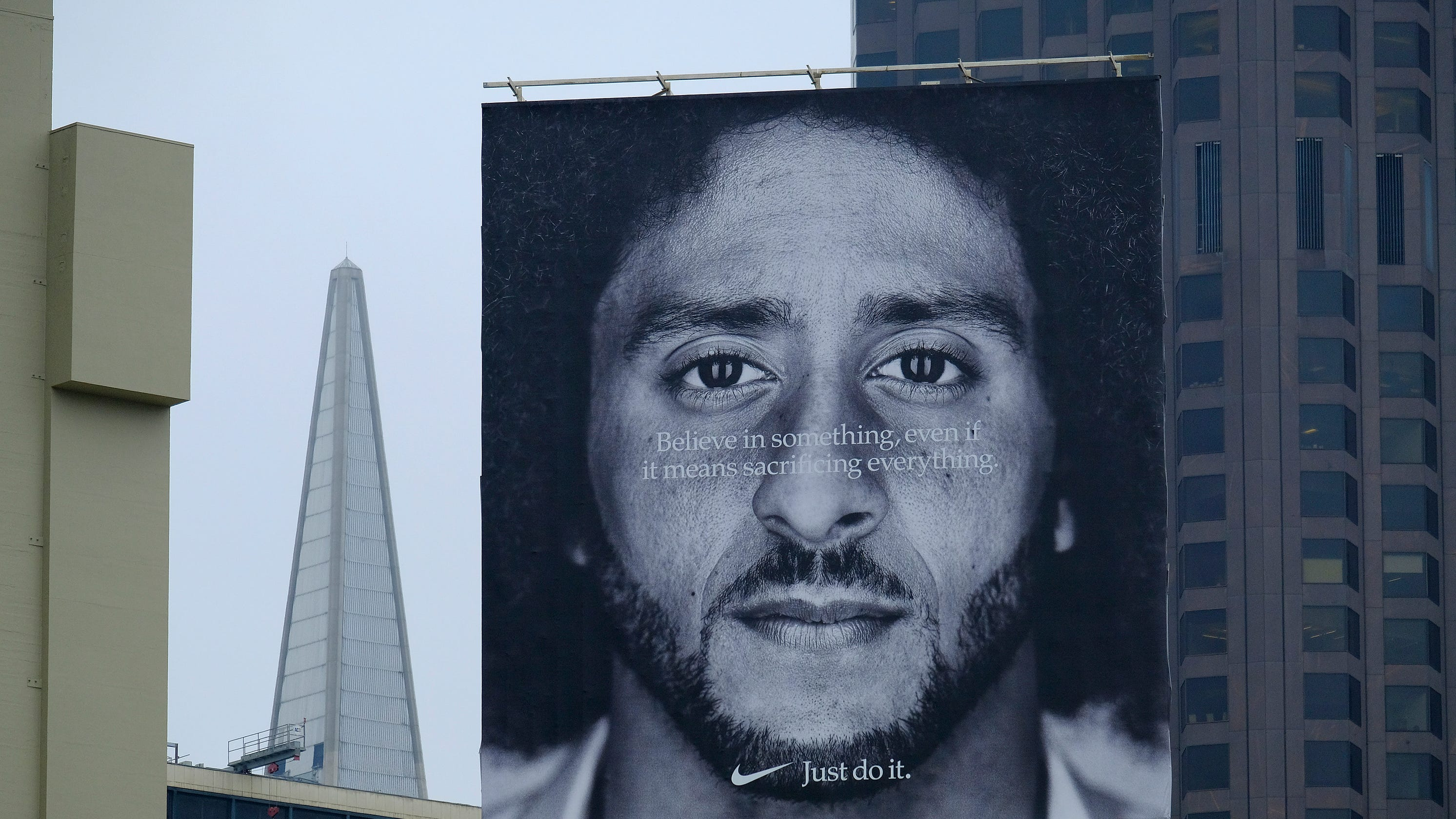 8d82550ff Nike Colin Kaepernick ad  Commercial airs during NFL opener