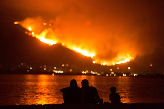Ap Western Wildfires A Usa Ca