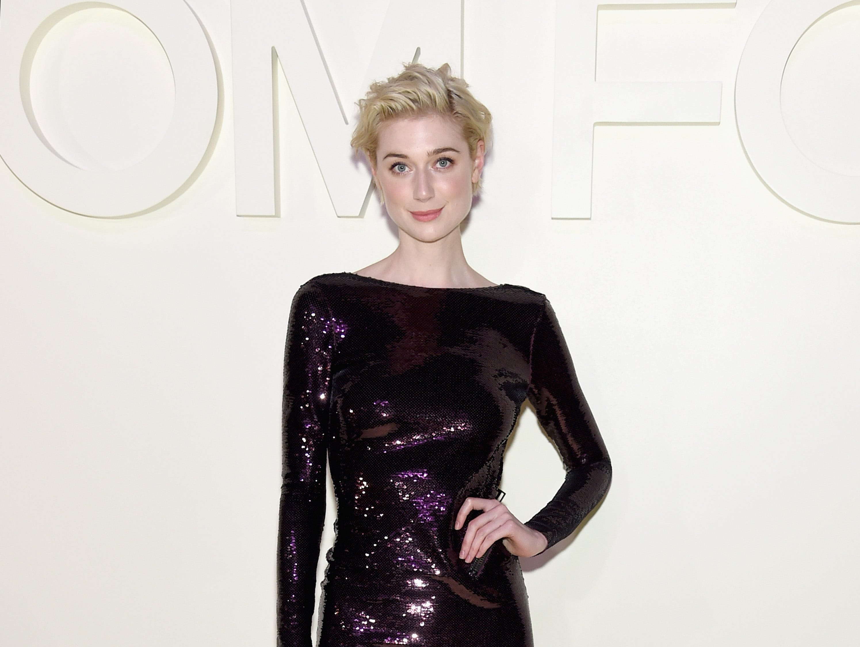 NEW YORK, NY - SEPTEMBER 05:  Elizabeth Debicki attends the Tom Ford fashion show during New York Fashion Week at Park Avenue Armory on September 5, 2018 in New York City.  (Photo by Jamie McCarthy/Getty Images) ORG XMIT: 775216222 ORIG FILE ID: 1027431410