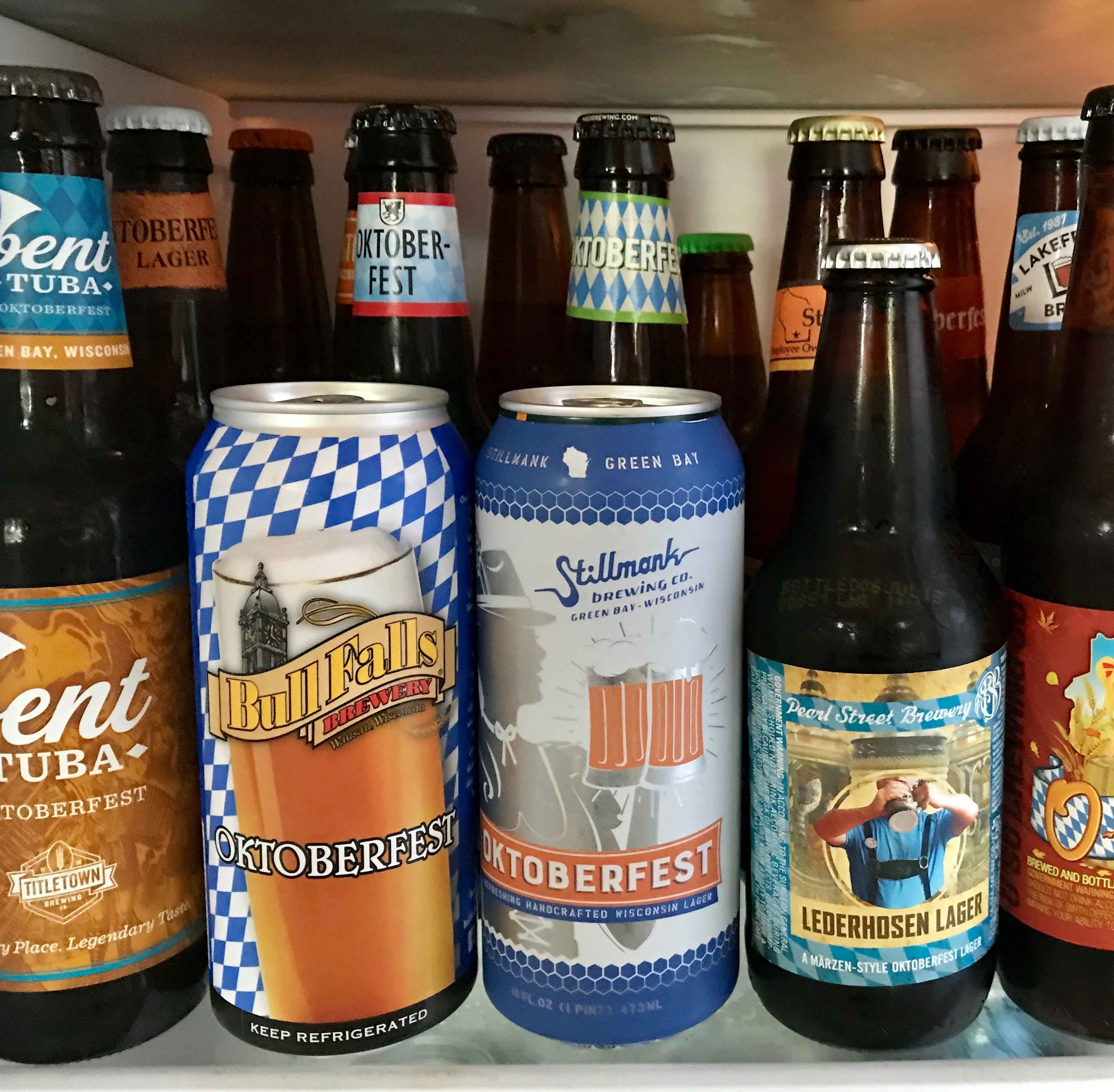 We did a blind taste test of 18 Wisconsin-brewed Oktoberfest beers. Here's what stood out.