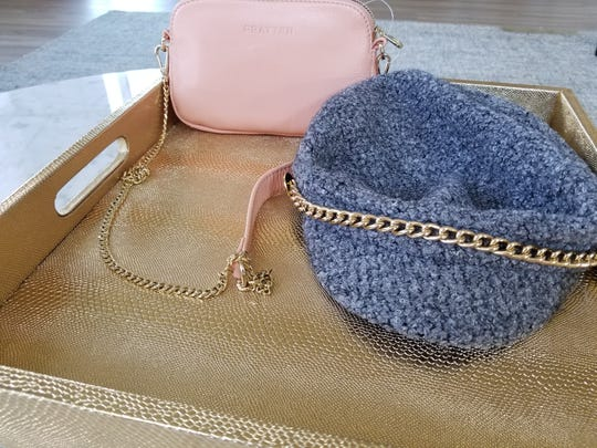 Pratten's Leather Sweetheart Bag and Tripoli hat by Scala are great fall essentials.