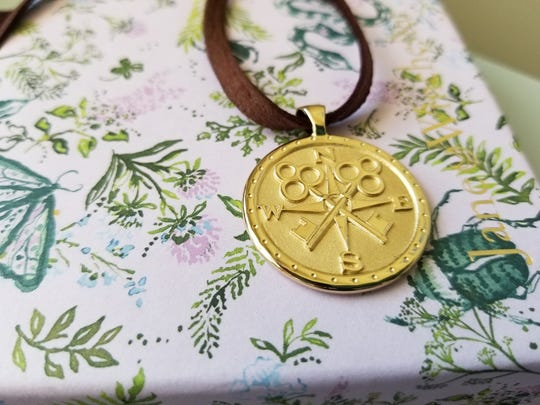 Gold jewelry is in such as Jane Winchester's amulet jewelry.