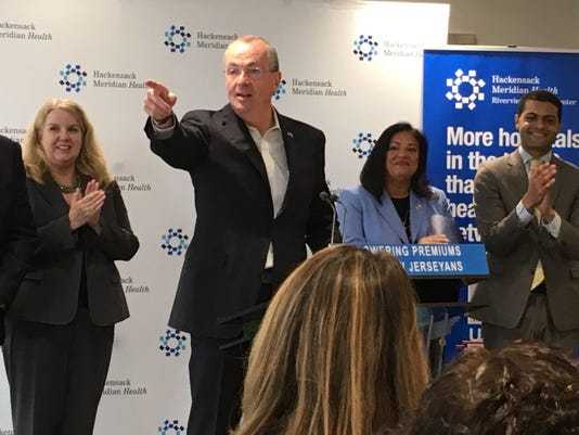 Gov. Phil Murphy touts state health plan