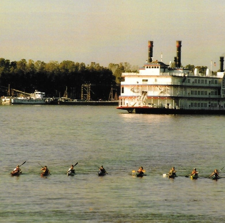 Answer Man: Students paddled from Rosman to Gulf of Mexico?