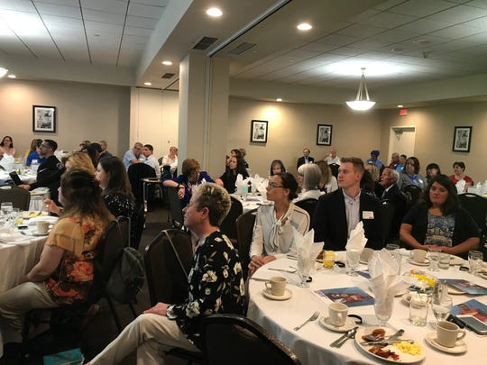 United Way of Broome County hosted a campaign breakfast at the DoubleTree by Hilton in Binghamton Friday.