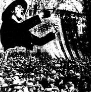 Women played a major role in the 1918 Labor Day parade.