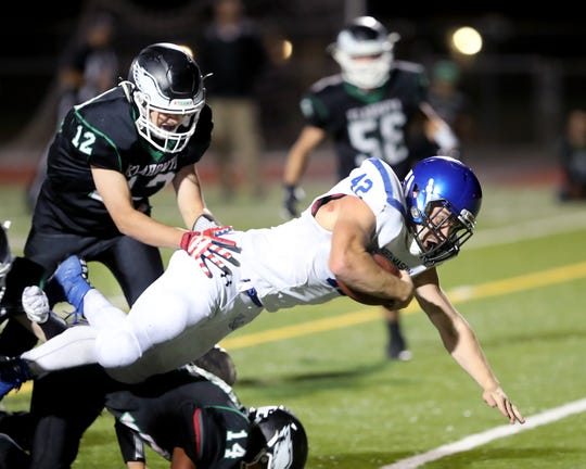 North Mason senior Reese Smelcer will continue his football player career at Eastern Oregon University.