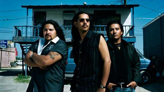 Los Lonely Boys are (from left), Ringo, Henry and Jojo Garza.