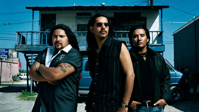 Los Lonely Boys are (from left), Ringo, Henry and Jojo Garza.