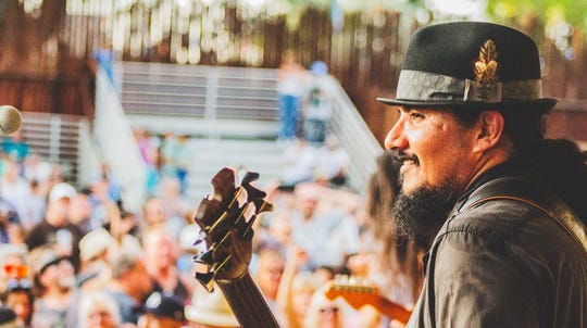Jojo Garza became the bass player for Los Lonely boys when he returned from a summer away and found the guitarist and drummer positions filled by his older brother, Henry, and younger sibling, Ringo, respectively.