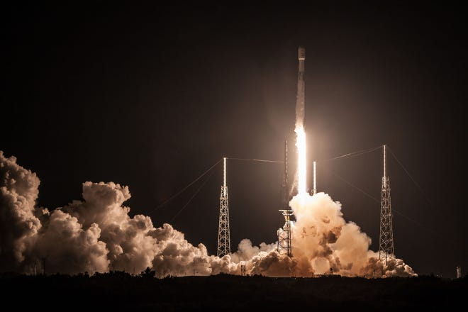 At 1:50 a.m. July 22, a SpaceX Falcon 9 blasted off from Cape Canaveral with Canadian satellite operator Telesat's Telstar 19 Vantage communications satellite. Another launch for Telesat is planned at 11:28 p.m. Sunday, Sept. 9.